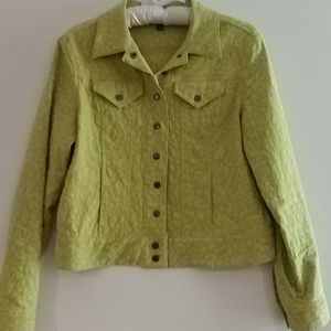 Spring Peck & Peck women's jean jacket